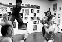 Dancers Jumping