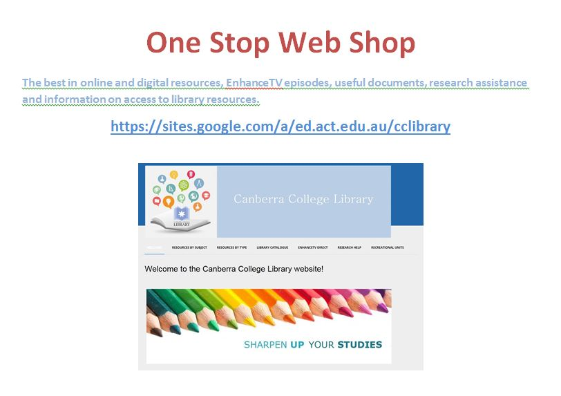 Library One Stop Web Shop