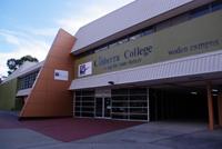 Exterior of College