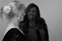 Media Student Interviewing Marcia Hines